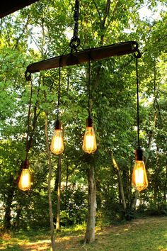 Rustic Southern Accent Lighting by SouthernRestorations on Etsy, $298.00 wooden yoke harness light