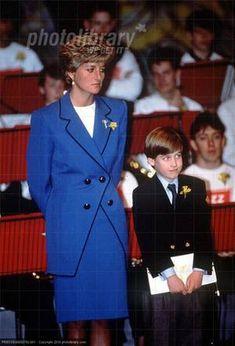 Charles , Diana et  William In Wales -  Mars 1991 _  Suite