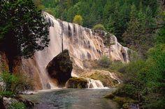 世界遺産 九寨溝の渓谷の景観と歴史地域の画像 九寨溝の渓谷の景観と歴史地域の絶景写真画像  中国