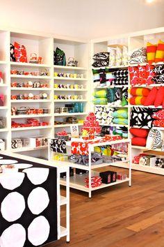 EQ3 store interior - Marimekko section