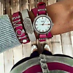 Keep Collective watch and bracelet combo. Wife watch sparkle! www.keep-collective.com/with/ericarowoldt