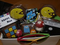 Dare we do an 80s theme 30th birthday party?! Some cute treats, if we dare!