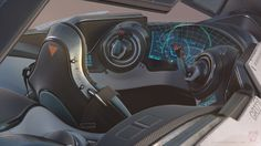 """[image] Title: Thrust Challenge - final entry - Star Fighter , Carsten Stueben Name: Carsten Stueben Country: Germany Submitted: July 2016 Hi there I decided to edit this """"old"""" post from the last deadline… Spaceship Interior, Spaceship Art, Spaceship Design, Spaceship Concept, Concept Cars, Star Citizen, Bmw Interior, Sci Fi Spaceships, Space Fantasy"""