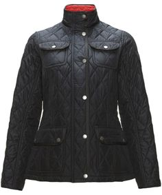 Women's Barbour Wooton Quilted Jacket - Navy