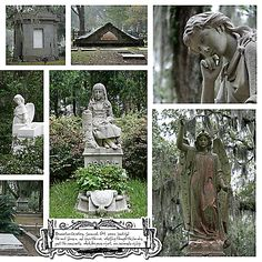 Savannah Georgias cemetery was featured in the Midnight in the