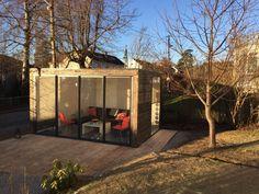 Din nye boltreplass i hagen - GardenPod Small Places, Home Furniture, House, Nye, Home Decor, Animals, Home Goods Furniture, Home, Animaux