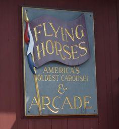 Flying horses carous