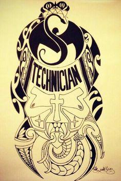 Tech N9ne art ^S^❤