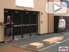 Watch as Coach Nick Kohl explains and a long jumper demonstrates these Long Jump Box Drills. Track And Field Events, Track Field, Indoor Track, Triple Jump, Long Jumpers, Box Jumps, High Jump, Drills, Cross Country