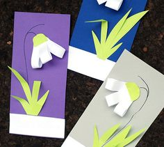 DIY snowdrops – craft SPRING Best Picture For Spring Crafts For Kids to sell For Your Taste You are looking for something,. Kids Crafts, Spring Crafts For Kids, Toddler Crafts, Preschool Crafts, Easter Crafts, Diy For Kids, Christmas Activities For Kids, Spring Activities, Art Activities