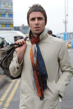 liam gallagher multicolored scarf june 11