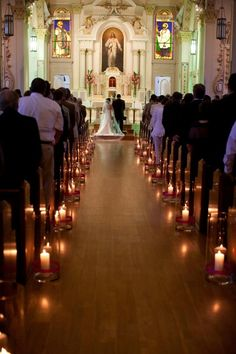 Ideas for wedding ceremony decorations church purple Wedding Ceremony Ideas, Wedding Walkway, Wedding Church Aisle, Church Wedding Decorations, Church Ceremony, Marie, Wedding Planning, Walkway Ideas, Purple Wedding