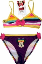 Costum baie din 2 piese, de la Disney cu Minnie Mouse, 80% poliamida, 20% elastan. Bikinis, Swimwear, Minnie Mouse, Costumes, Disney, Fashion, One Piece Swimsuits, Moda, Dress Up Clothes