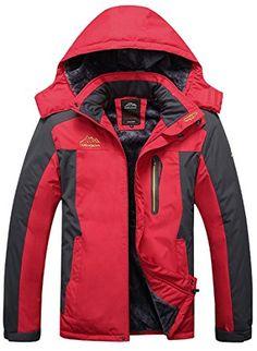 54427842151 Sawadikaa Men s Outdoor Waterproof Mountain Fleece Plus Size Ski Jacket  Raincoat Windbreaker Review