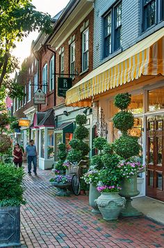 Picturesque Alexandria, Virginia is ideal for the bride and groom looking for vintage shops, small restaurants and historic sites.