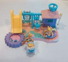 Mattel Bluebird Mimi The Goo Goos Playground Complete Miniature Playset 1994 | eBay