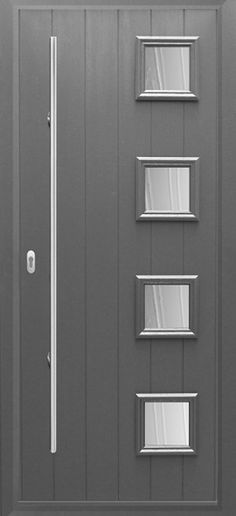 The Italia Collection - Modern Composite Doors From Solidor another possible style