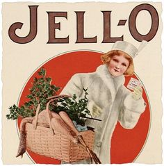 Vintage Jello Christmas Ad from 1912 - Click for printable version