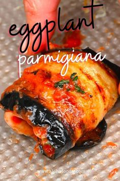How to make eggplant parmesan (aka eggplant parmigiana) – a wholesome, comforting vegetarian main dish. Make this as baked eggplant parmesan or fried! Plus, this recipe can be made as one large bake or individual parmigiana rolls (perfect as an appetizer for parties)! Autumn Winter Recipes, Winter Food, Baked Eggplant, Eggplant Parmesan, Storing Basil, Vegetarian Main Dishes, Appetizers For Party, Stew, Rolls