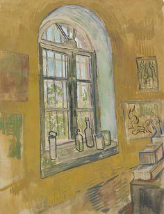 Raam in het atelier, 1889, Vincent van Gogh, Van Gogh Museum, Amsterdam (Vincent van Gogh Stichting)