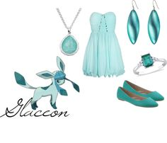 """Glaceon"" by shadowphoenix on Polyvore"