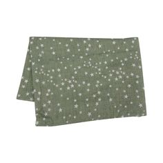 Sage Starry Scarf via Alice's Wonders. Click on the image to see more!