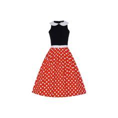 Retro šaty Lindy Bop Emmy Šaty ve stylu 50. let. Toto je opravdu to pravé retro! Dokonalé šaty v klasické barevné kombinaci - červená, černá, bílá. Skvělý střih zajistí dokonalé podtržení ženských křivek, decentní límeček a bílá úzká stuha v pase, puntíky na rozšířené sukni přitáhnou pozornost vašeho okolí. Příjemný materiál - živůtek 100% polyester, límeček a sukně 97% silná bavlna s 3% podílem elastanu pak zajistí vaše pohodlí při nošení. Dokonalý objem sukně zajistí spodnička, kterou… Two Piece Skirt Set, Retro, Skirts, Dresses, Fashion, Gowns, Moda, Fashion Styles, Dress