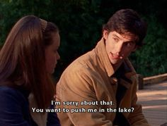 "When his charm and wit were almost as appealing as his stunning good looks. | 19 Of Jess Mariano's Best Lines On ""Gilmore Girls"""