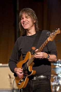 Mike Stern, I've seen Mike live three or four times and he is such a sweet guy and an amazing guitar player, I dig him big time.