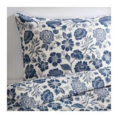 Ikea Angsort Pure Linen Duvet Quilt Cover set King Double Genuine Linen Floral French Country Old Fashion Blue and White King Duvet Cover, Ikea Duvet Cover, Linen Duvet, Ikea Bed, Duvet, Ikea Duvet, Duvet Covers, Bed Linen Sets, Blue Duvet Cover