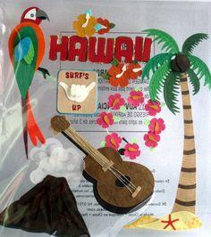 Scrapbook Embellishments  Hawaii EBS00023 by EclecticBarn on Etsy