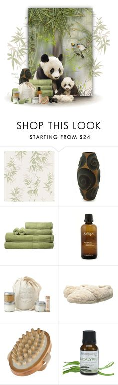 """Think happy thoughts"" by merlothues ❤ liked on Polyvore featuring beauty, Brewster Home Fashions, NOVICA, Jurlique, Acorn, Temple Spa, Beauty, spa and MerlotHuesArt"