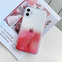 Cute Gradient Marble Cute Phone Case For iPhone 11 Pro Max SE 2020 X XR XS Max 7 8 Plus Clear Shiny Glitter Shockproof Coque | Touchy Style Apple Iphone, Best Iphone, Marble Iphone Case, Marble Case, Cute Phone Cases, Iphone Phone Cases, All Iphones, Plus 8, Iphone Models