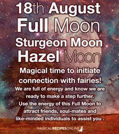 August Magic: The Sturgeon Moon