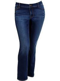 80ed6c5b48f0c Womens Plus The Rockstar Boot-Cut Jeans in