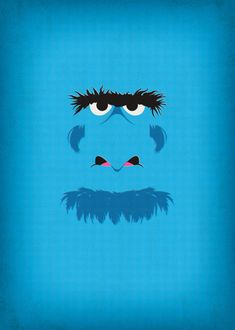 Awesome  Muppet and Sesame Street Poster