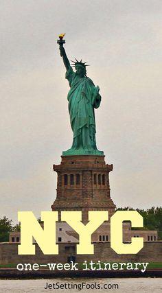 New York City One-Week Itinerary NYC JetSetting Fools