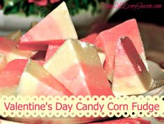 Hope In Every Season: Valentine's Day Candy Corn Fudge for the Homemaking Party  and link up party