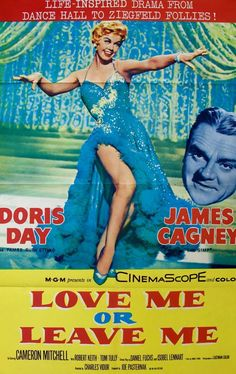 Love Me or Leave Me (1955) Original One-Sheet Movie Poster