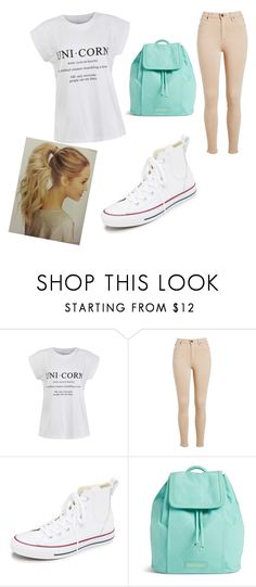 """unicorn fan or sumthin idk"" by maryjsullivan ❤ liked on Polyvore featuring Ally Fashion, Converse and Vera Bradley"