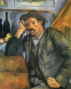 The Smoker Paul Cezanne French) Oil on canvas State Hermitage Museum St Petersburg Russia Canvas Art - Paul Cezanne x Paul Gauguin, Cezanne Art, Paul Cezanne Paintings, Monet, Hermitage Museum, Impressionist Art, Old Master, French Artists, Pablo Picasso