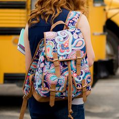 Emerson Paisley Campus Backpack Custom MONOGRAM AVAILABLE