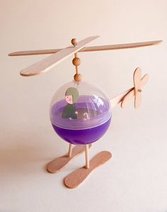 DIY Recycled Helicopter Toy for Kids и много других поделок