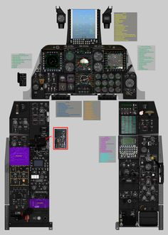 I'm a noob, here, still have a lot to learn but created this image to aid in familiarization of cockpit.  It is a composite image, so some info maybe in conflict.  Any corrections, or suggestions!       The image was hi rez 5000-7000px, I see it downsized now.  Has a start-up procedure in …