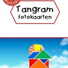 Deze set bestaat uit 60 tangram fotokaarten en een tangram sjabloon om direct aan de slag te gaan. Wat kun je er mee doen? Druk de kaarten...