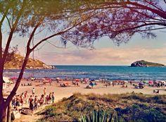 Imbituba beach / Praia do Canto, Imbituba, SC Brazil