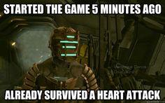 Ahhh, Dead Space... love that franchise