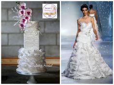 Zuhair Murad inspired fashion cake - Cake by Gulnaz Mitchell