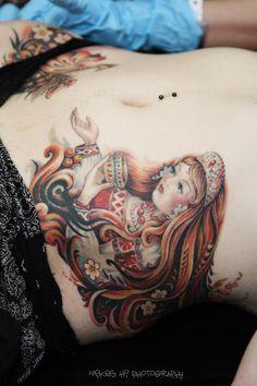 Saint-Petersburg Tattoo Convention VIII  Tattoo Artist: Olga Mahnacheva (Omsk, Russia)