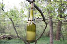 Trap stinging pests this summer without harsh chemicals, and make your outdoor entertaining areas more tolerable. DIY Network's Emily Fazio shares a simple tutorial that makes use of an upcycled wine bottle.